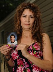 Ana Penaloza says she doesn't want her son, Ivan Penaloza, to die in Mexico. (Photo by: Johnny Crawford)